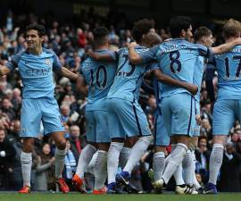 Manchester City festeja triunfo