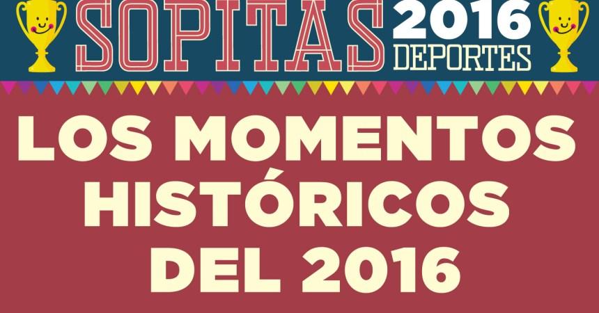 Momentos Históricos en del deporte 2016