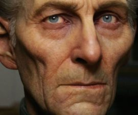 Peter Cushing digitalizado