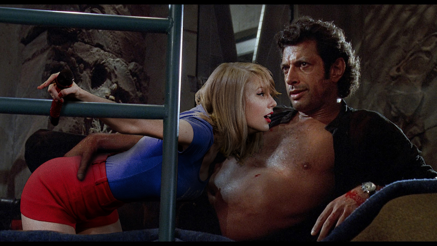 Taylor Swift y Jeff Goldblum