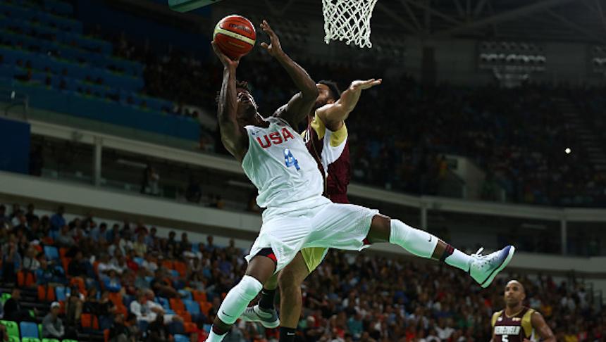 Men's Basketball - Olympics: Day 3