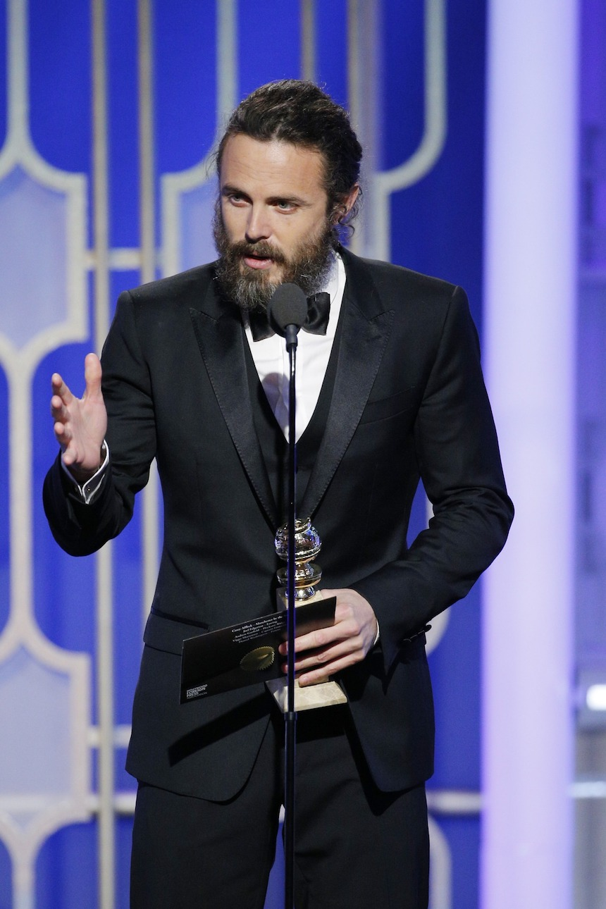 Casey Affleck Golden Globes