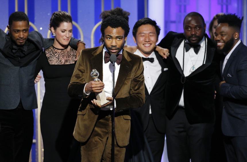 Donald Glover Golden Globes