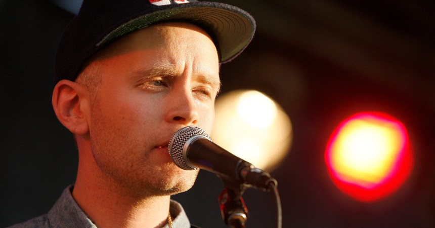 NEW YORK, NY - JUNE 15:  Musician Jens Lekman performs during Northside Festival 2012 Day 2 on June 15, 2012 in the Brooklyn burough of New York City.  (Photo by Mike Lawrie/Getty Images)