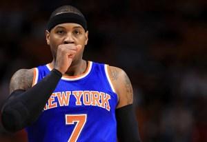 Carmelo Anthony: de estrella a manzana podrida con los Knicks