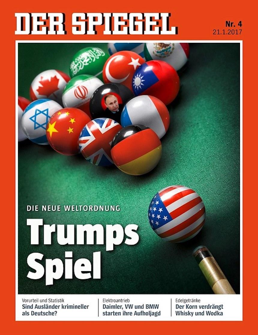 Donald Trump Revista Alemania