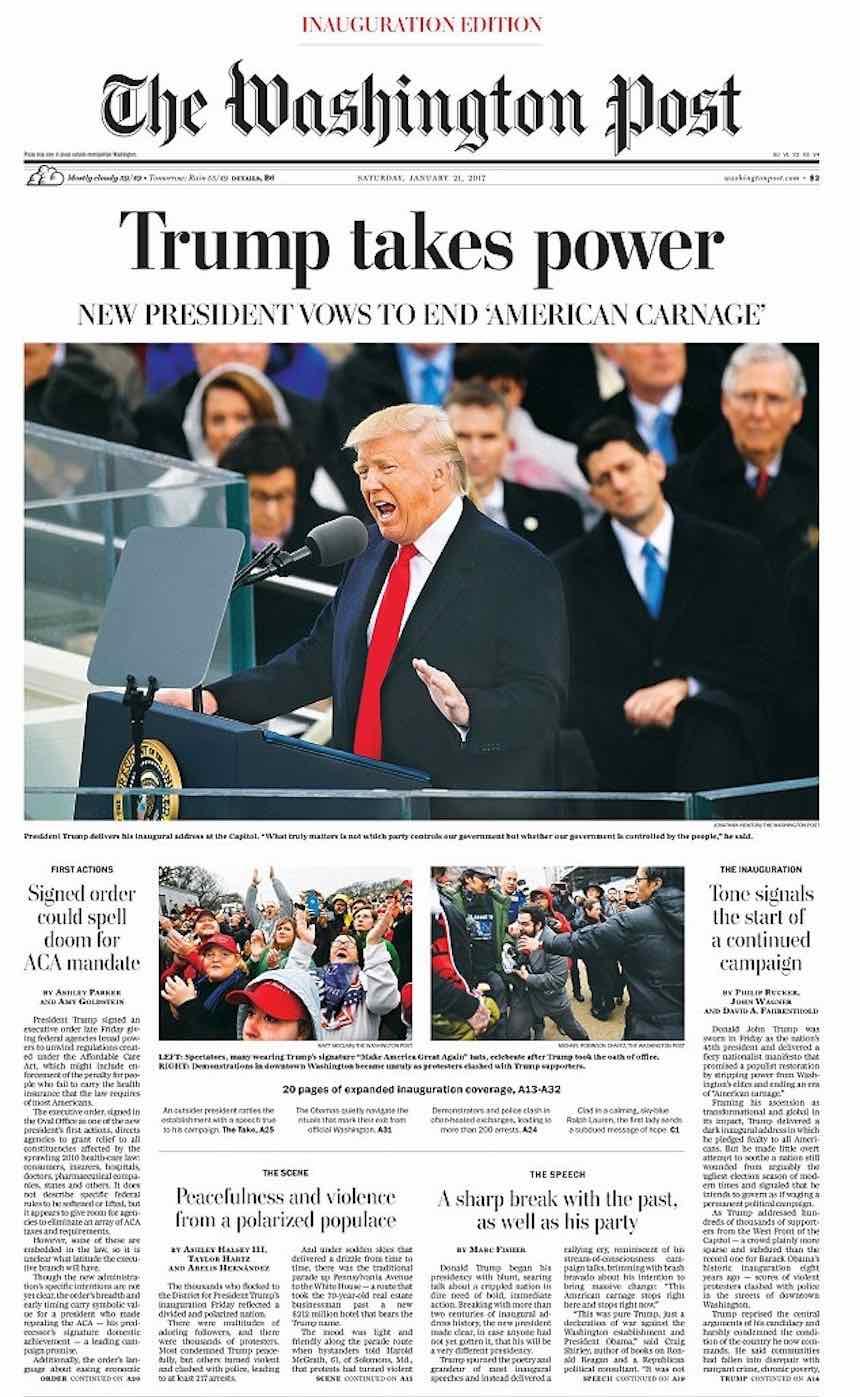 Donald Trump Revista