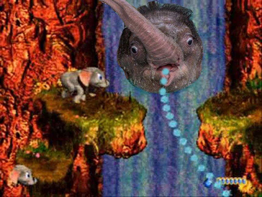 Elefante bebé - videojuego