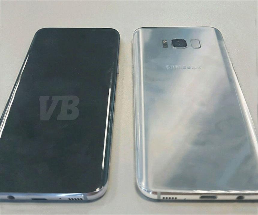Imagen filtrada de Samsung Galaxy S8
