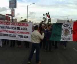 mexicali manifestaciones agua