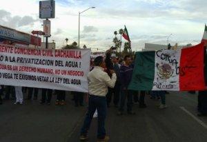 Tras manifestaciones, en Baja California se anula aumento al servicio de agua