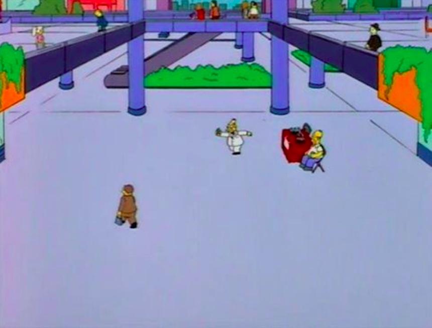 Los Simpson - Abuelo