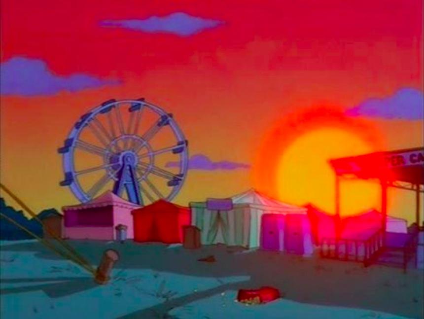 Los Simpson - Feria