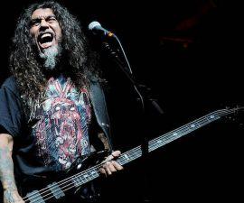 Tom Araya de Slayer.