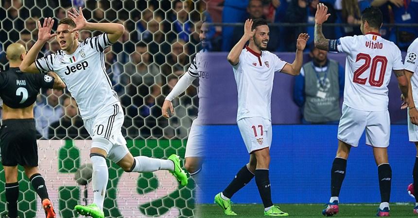 Juventus y Sevilla