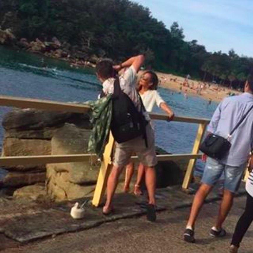 Novios de Instagram - Foto en un puente