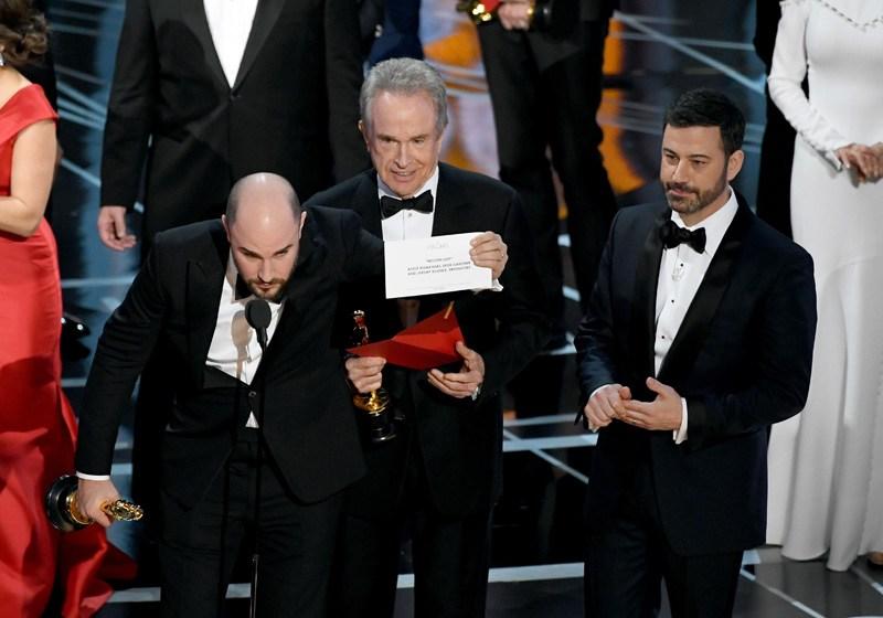Error en los Premios Oscar 2017
