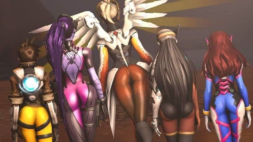 Overwatch Chicas