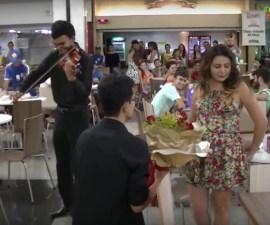 Propuesta de matrimonio fallida