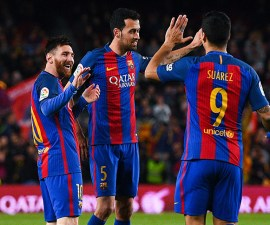 Barcelona goles contra el Sporting de Gijón