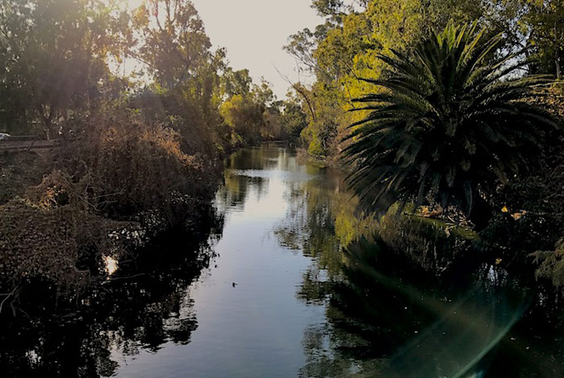 Agua Canal Nacional