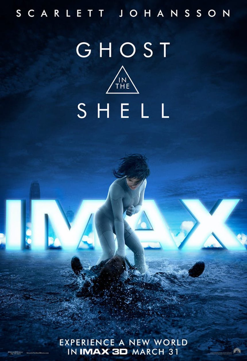 Ghost in the Shell Poster IMAX