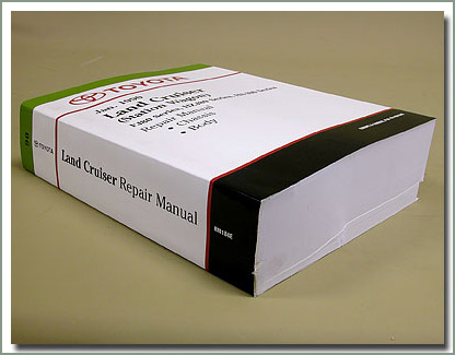 Page 221 Land Cruiser Toyota OEM Engine, Chassis  Body Manuals