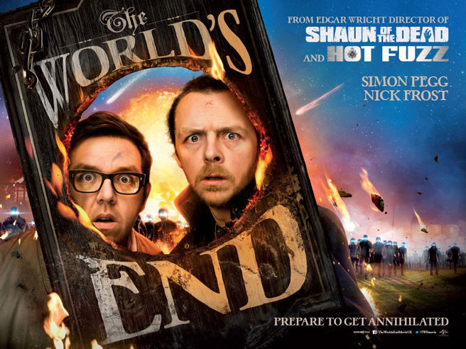 The World's End Just Got A Trailer - Starring Simon Pegg And Nick Frost