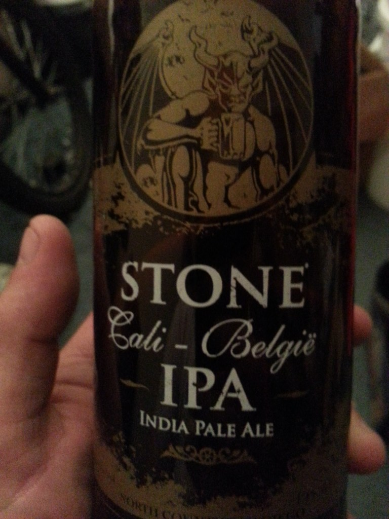 Stone Cali-Belgie IPA bottle