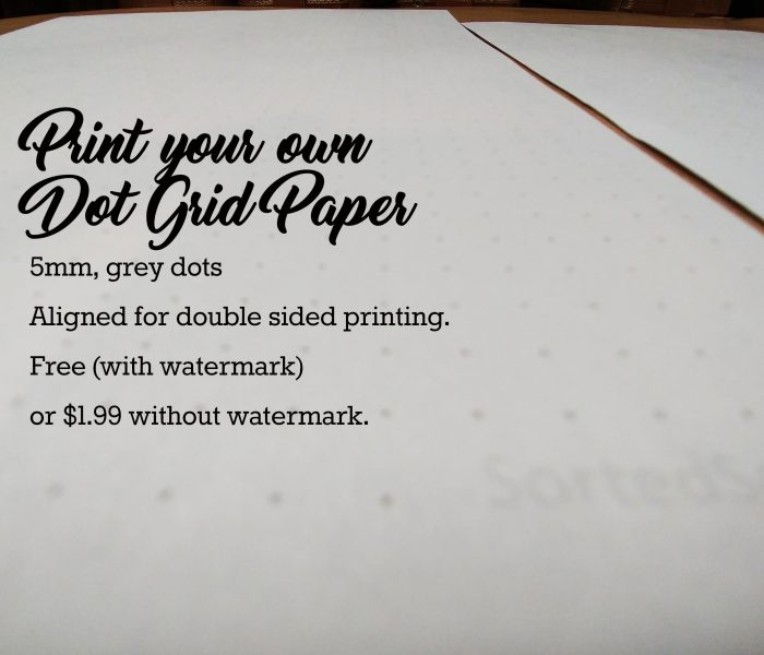 free printable dot grid paper Archives Sorted Soul - printable dot grid paper