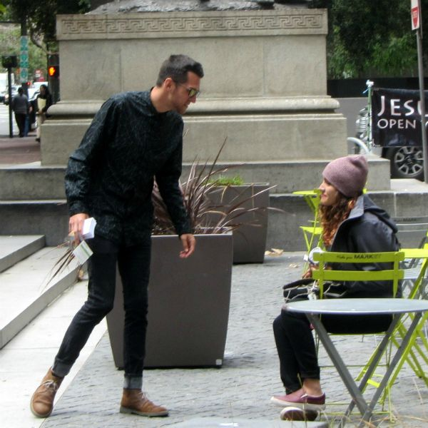 JACOB MINISTERS TO SIERRA AT FIRST AND MARKET ST.