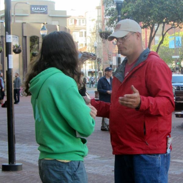 SEAN WITNESSES IN BERKELEY.