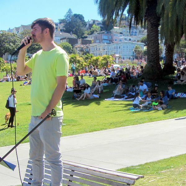 DANIEL PREACHES AT DOLORES PARK