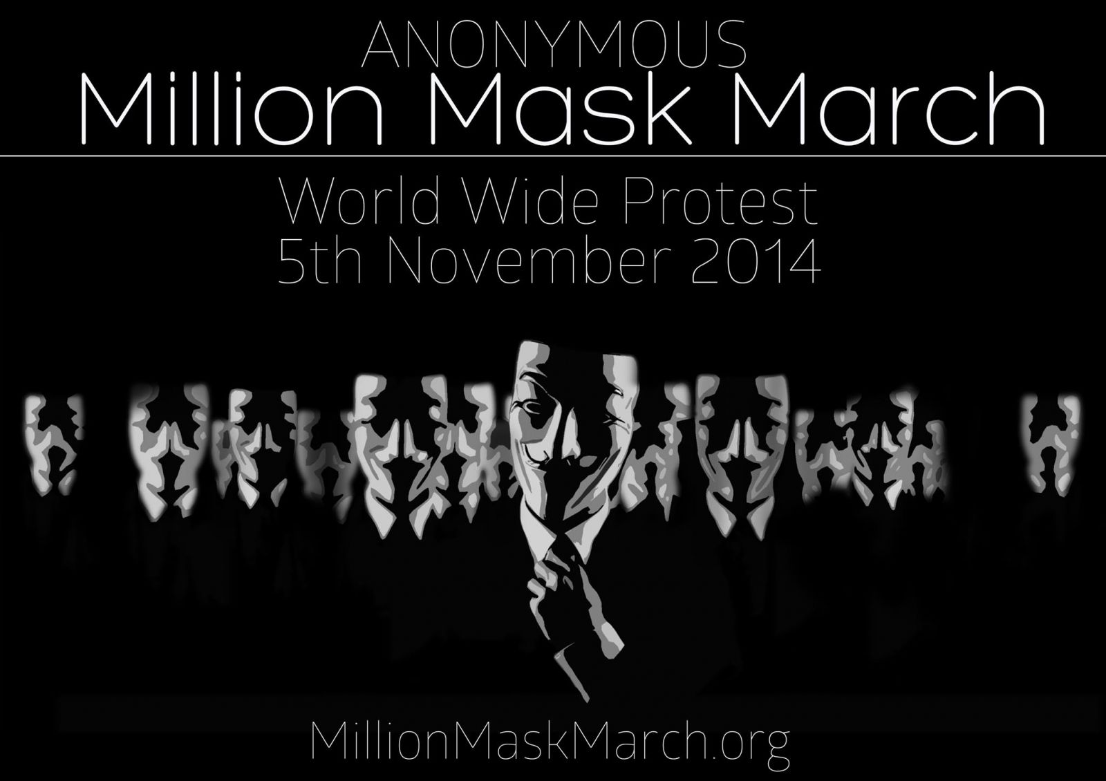 Anonymous Hacker Wallpaper Quotes November 5th Anonymous Million Mask March Taking Place