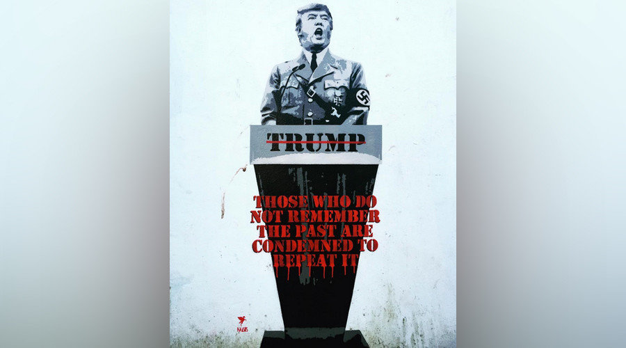 Donald Trump Quote Wallpaper Heil Trump British Street Artist Gives The Donald The
