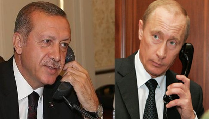 Image result for rdogan Calls Putin as Russia Seethes at Turkey's Syrian Incursion