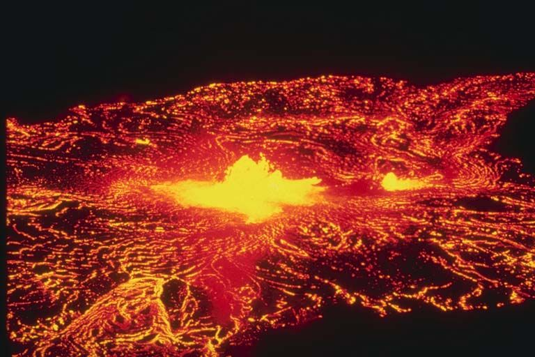 Jfk Quote Wallpaper Hawaii Lava Lake At Halemaumau Crater Rising Gradually