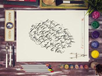 Calligraphy   Tyler Kent White x Souldeelight
