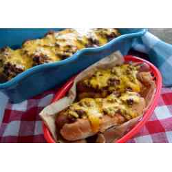 Small Crop Of Baked Hot Dogs