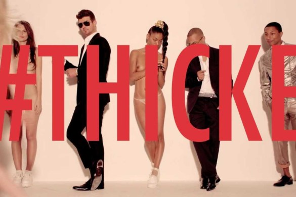 Robin Thicke- Blurred Lines EP Album Review by Victoria Shantrell