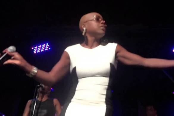 Shelby J and Liv Warfield the New Power Generation Horns LIVE at City Winery in New York City on August 21,22,23,25