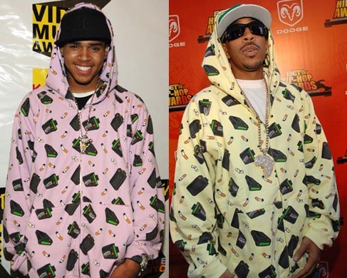 Chris Brown and Ludacris