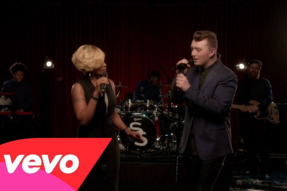 "Sam Smith and Mary J. Blige new duet ""Stay With Me"" @samsmithworld @maryjblige [FULL VIDEO] [LIVE PERFORMANCE]"