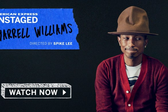 WATCH NOW- Pharrell Performs Live for AmEx UNSTAGED