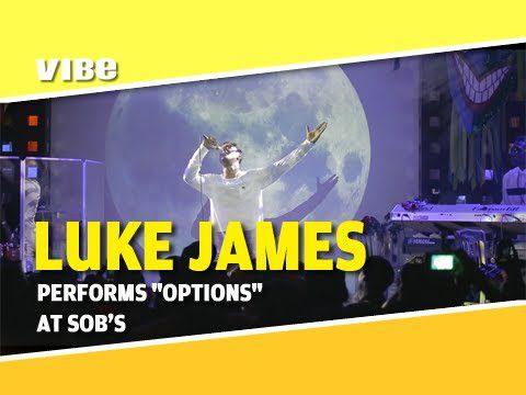 "Luke James Performs ""Options"" at SOBs [FULL VIDEO] @whoisLukeJames"