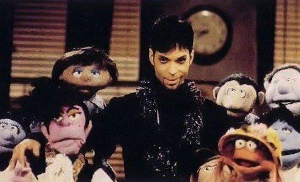 #TBT Prince and The Muppets - Starfish and Coffee (Alternate Vision) [VIDEO] @Prince3EG @3rdEyeBoy