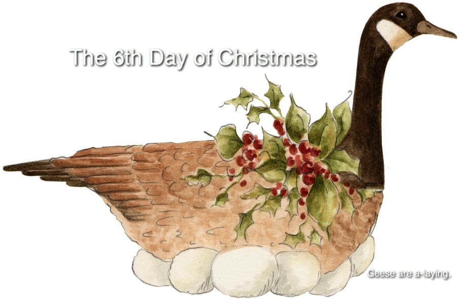 """ON THE SIXTH DAY OF CHRISTMAS"""