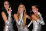 Roxy Ruiz-Roca, Cyndi Pereira y Excela La Rosa