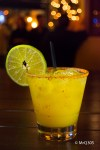 MANGO MARGARITA made with Tequila Reposado 100% de Agave and just the right touch of spice.