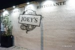 I started my walk at Joey's. It is smack in the middle of the action.